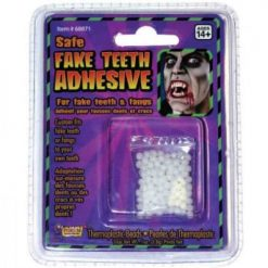Thermo adhésifs pour fausses Dents et crocs / Thermo Adhesive for fake Teeth & fangs