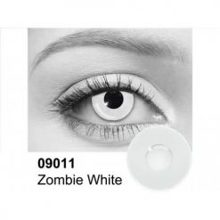 Zombie White lentilles 09011 contact lenses
