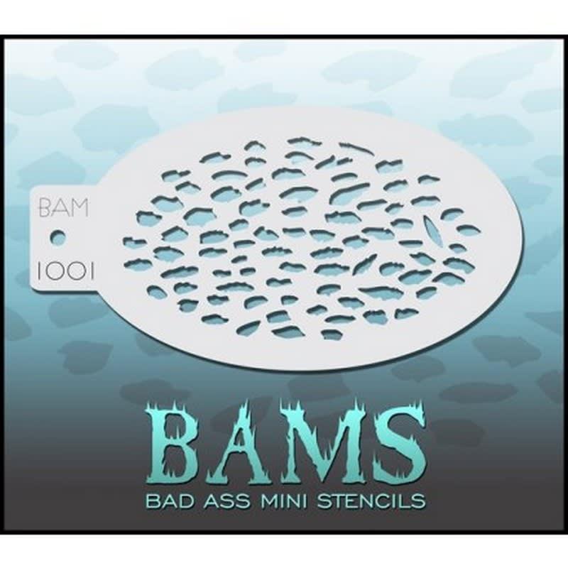 BAM 1001 Bad Ass Mini Stencil