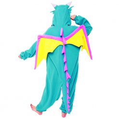 Dragon bleu - Costume Kigurumi adulte onesie