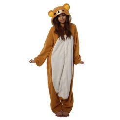 RILAKKUMA bear onesie Kigurumi - adult