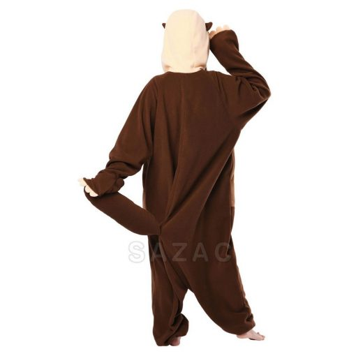 Kigurumi Sea Otter onesie _back