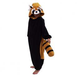 Kigurumi enfant de Panda roux - Costume onesie / Kids RED PANDA disguise