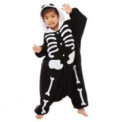 Kigurumi enfant de squelette - Costume onesie / Kids SKELETON disguise