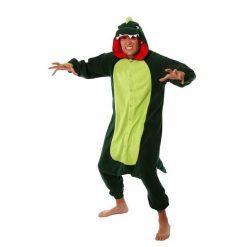 DINOSAUR Green Kigurumi onesie- adult