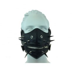 Sexy bondage leather mouth mask BDSM