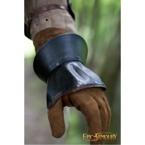 Hourglass Demi Gauntlets, Dark