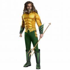 AQUAMAN costume super-héros deluxe hommes- Standard