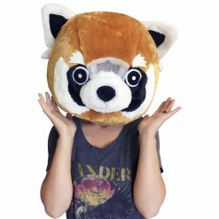 Big Fat Head RED PANDA mask