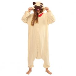 PUG Dog Kigurumi onesie costume- adult Regular