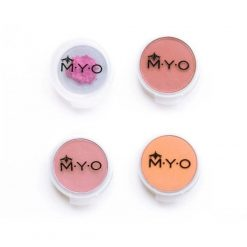 M.Y.O. Cosmetic Cases Large Pods 4/pk - Contenants vides maquillage