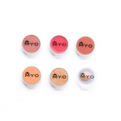 M.Y.O. Cosmetic Cases Small Pods 6/pk