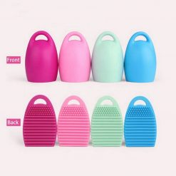Egg shape Silicone Makeup Brush Cleaner