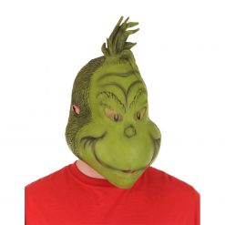 The Grinch Full Latex Mask_Green