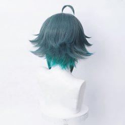 Medium blue impact cosplay wig