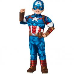 Captain America Costume - Toddler (2-4)